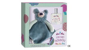 Coffret cadeau luc et lea Doudou et Parfum Image